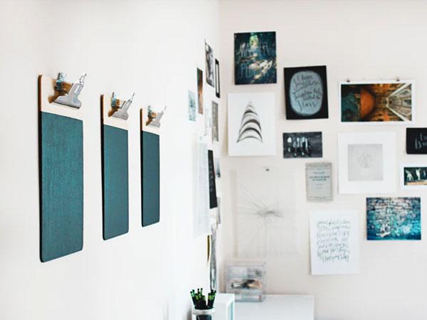post billede 5 fantastiske vægudsmykninger til hjemmet Gallerivæg - 5 fantastiske vægudsmykninger til hjemmet