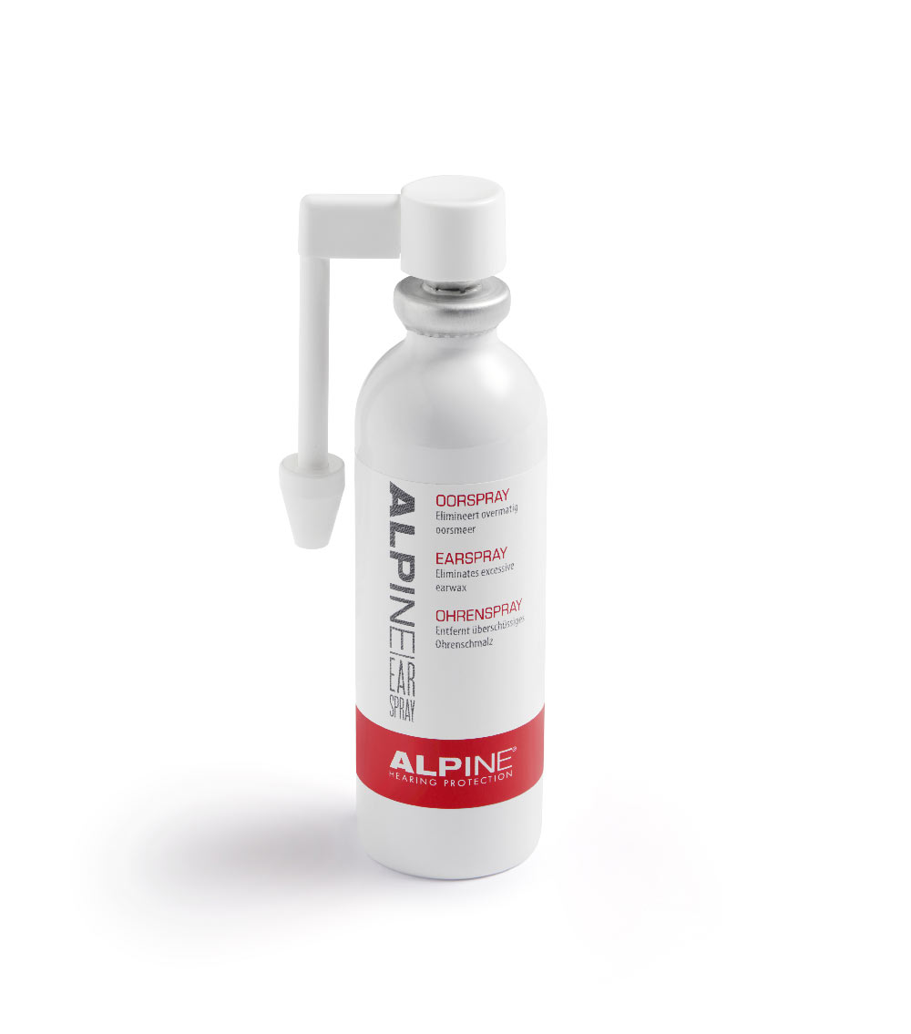 ear spray alpine hearing protection - Døjer du med for meget ørevoks?